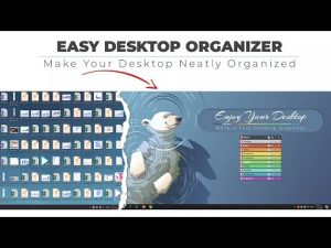 How to organize your desktop using MSTech EDO