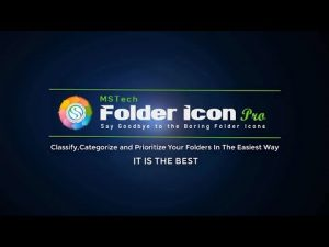 How to add text to a Folder Icon using basic icon creator