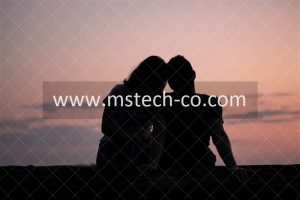 silhouette of couple photo