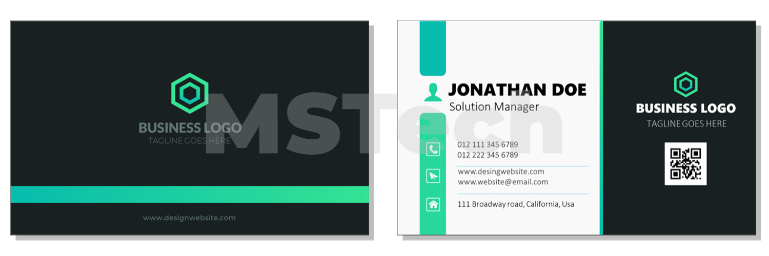 Elegant business card design 2