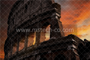 photo of Colosseum during golden hour photo